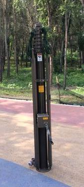 Manual Operation Telescopic Mast in   Qingjiangpu District