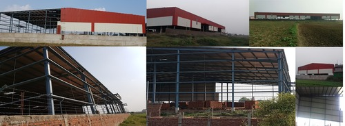 Industrial PEB Structural Shed in  New Area