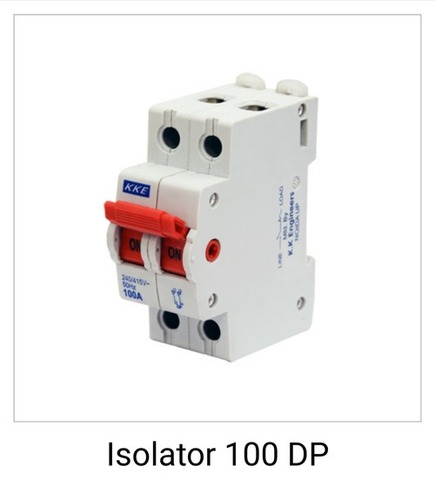Isolator Switches in  8-Sector