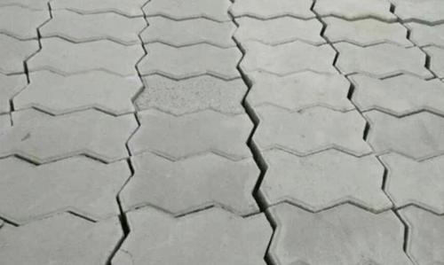 Concrete Zik Zak Paver Blocks