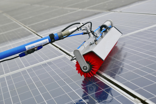 Industrial Solar Panel Cleaning System In Mumbai