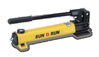 Sun-Run Make Hydraulic Light Weight Hand Pump
