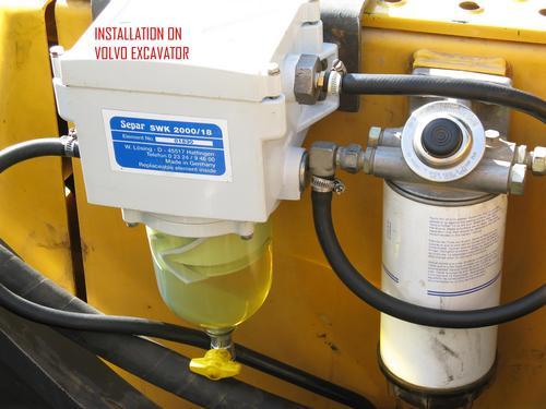 Diesel water separator prefilter in kochi kerala india - Tende separatorie ...