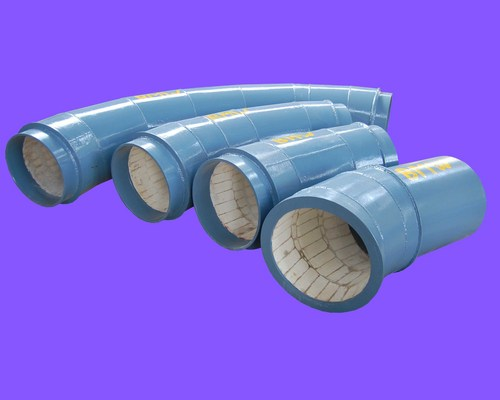 Alumina Ceramic Lined Pipelines And Bends