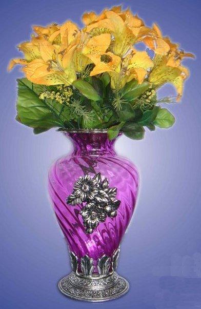 Glass Flower Pot in Hathras, Uttar Pradesh - Priyal ...