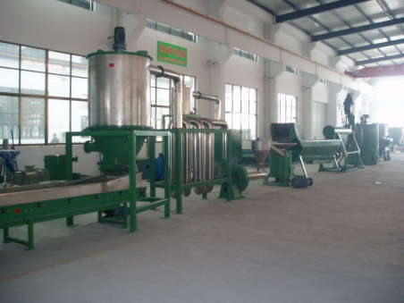 Plastic Washing And Recycling Line
