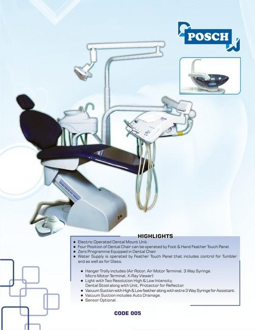 Posch Dental Chair Electronic Dental Chair