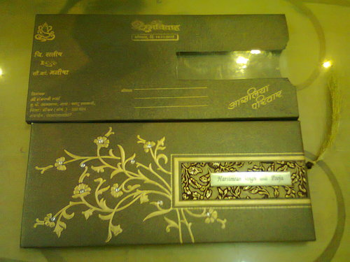 Indian wedding invitation cards in kalbadevi road mumbai for Wedding invitation printing in mumbai