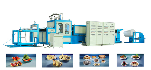 TAKE AWAY FOOD CONTAINER MAKING MACHINE in   Longkou City