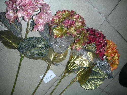 Artificial Hydrangea Flower