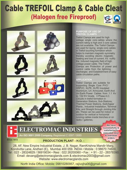 Single Pipe Clamp Cleat in  New Empire Indl. Est.-Andheri (E)