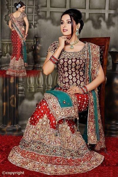 indian bridal wear in ghatkopar w mumbai exporter and distributor