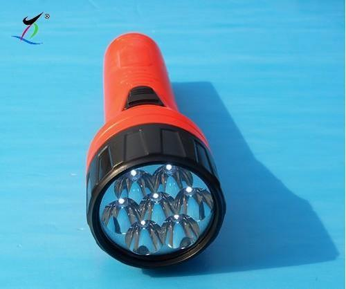 7 LED Plastic Flashlight