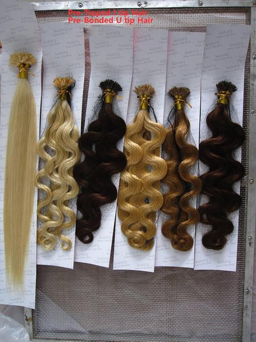 Stick Keratin Human Hair Extension