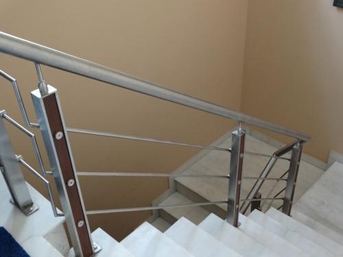 Modern Stainless Steel Staircase In Gopalpura Road Jaipur