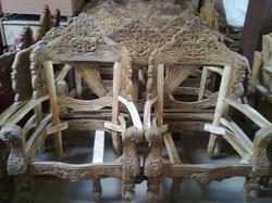 Awesome Wood Carved Sofa