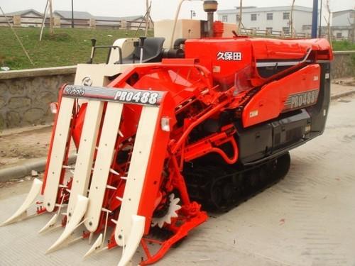 Used Kubota Rice Combine Harvesters