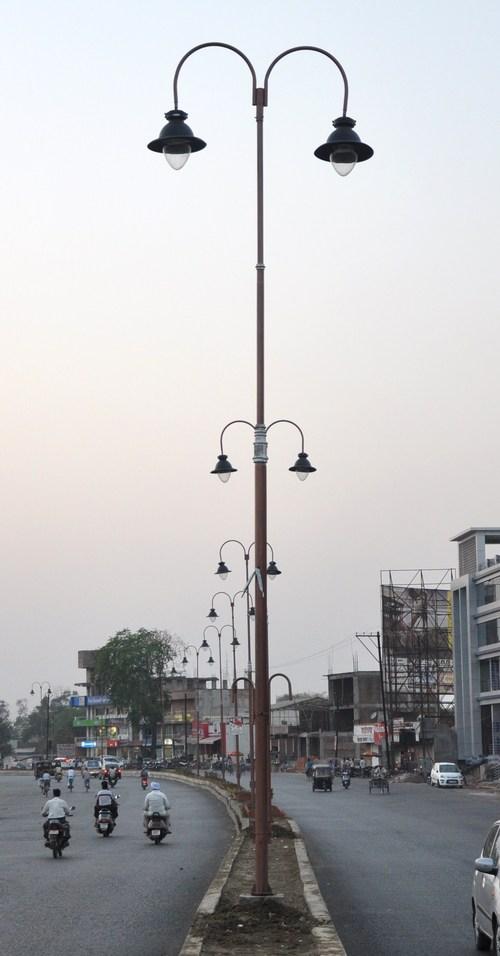 Decorative Light Poles decorative street light poles in talli bandhar, raipur - manufacturer