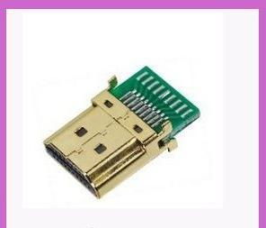 Hdmi A Type Plug Solder For Cable Ass'Y (Pcb)