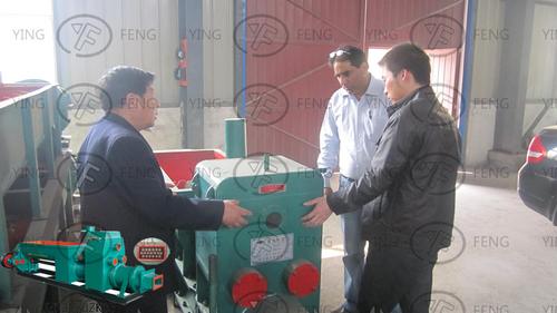 Durable Clay Brick Making Machine in  GUANCHENG HUIZU DISTRICT