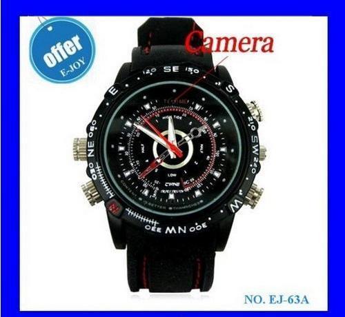 Hot Waterproof Spy Watch Camera 1280*960, 30fps