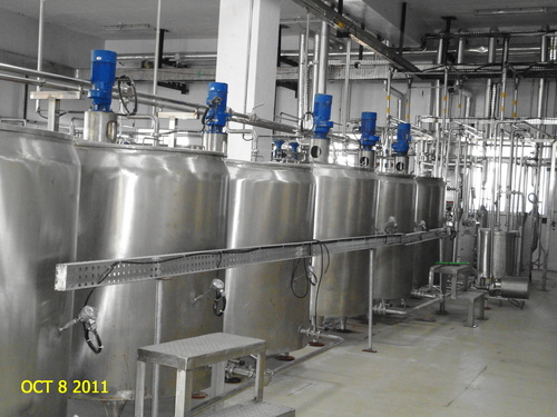 Curd Processing Unit in  64-Sector