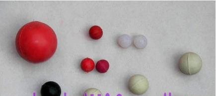 Color Rubber Balls