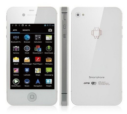 Android 4.0 Dual Core Dual Sim Smartphone High Copy In