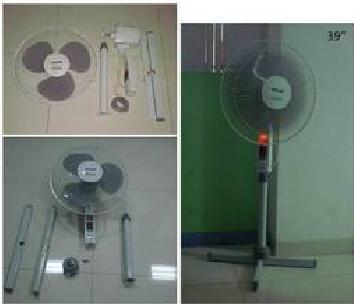 Foldable Pedestal / Standing Fan in  Malad Shopping Centre-Malad (W)