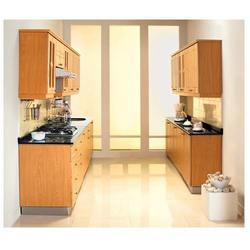 Parallel kitchen in marris road aligarh manufacturer for Parallel modular kitchen designs india