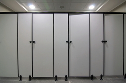 Toilet Partitions Qatar compact board toilet partitions (12 mm thick) in 10-sector, noida