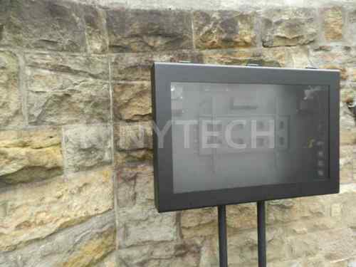 outdoor tv cabinet ebay enclosure plans