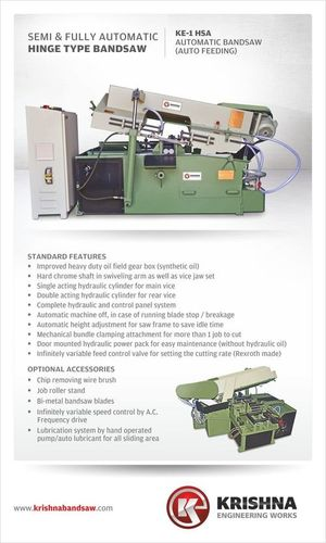 Automatic Bandsaw Machinery in   WADHWAN