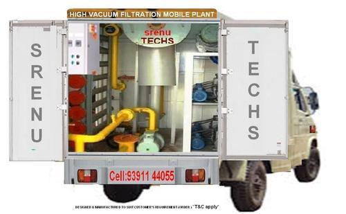 High Vacuum Mobile Transformer Oil Filter Machine