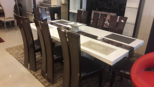 Imported Marble Dining Table in New Delhi Delhi MUEBLERIA : imported marble dining table 969 from www.tradeindia.com size 500 x 281 jpeg 73kB