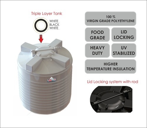 Sumo Triple Layer Water Tank