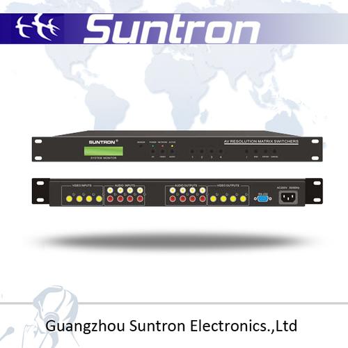Professional AV Matrix Switcher