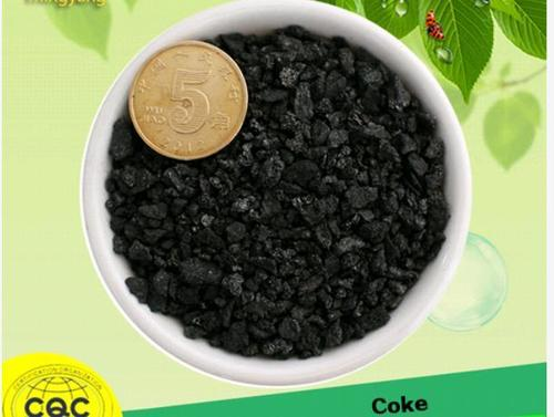Coke Filter Material in   Pingluo