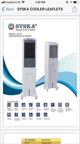 Electric Air Cooler Altis in  Nangloi