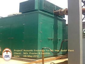 Acoustic Enclosure For Dg Sets