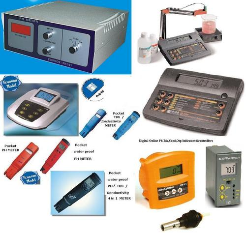 Ph,Tds, Conductivity Meters