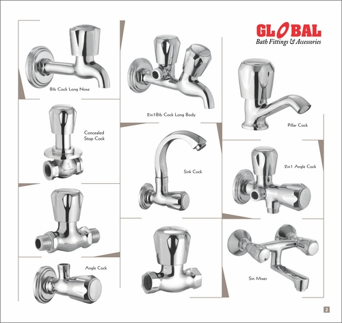 Cp fittings in bareilly uttar pradesh india global for Bathroom fitting brands in india