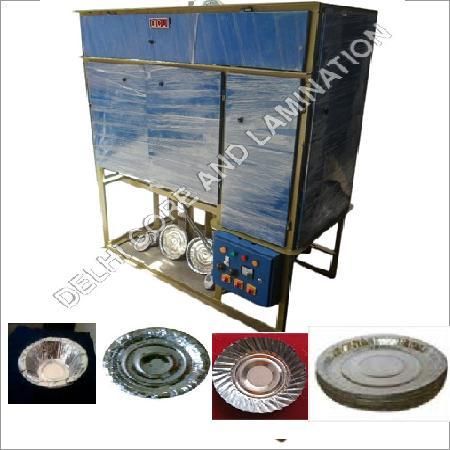 Fully Automatic Double Die Four Roll Paper Plate Making Machine