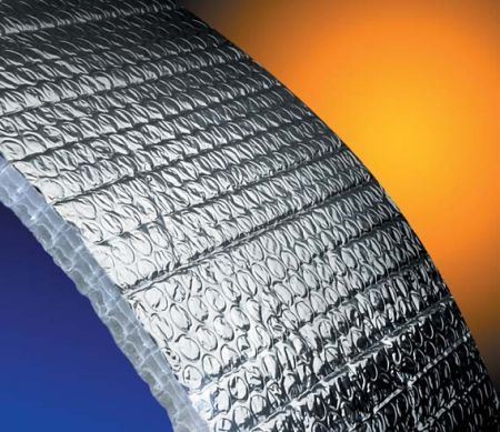 Aluminum Bubble Foil Building Heat Insulation Material In