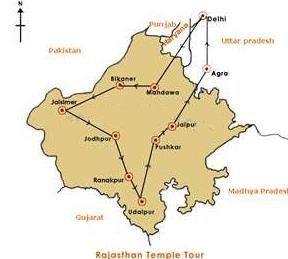 Rajasthan Temple Tours in  Mehrauli