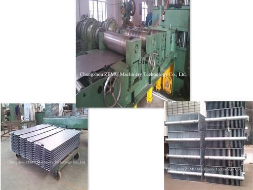 Industrial Transformer Radiator Fin Machine