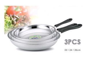 Stainless Steel Frying Pan Set