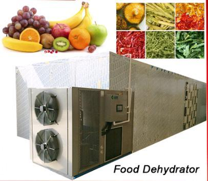 200 to 2500 kg Per Load Tray Dryer Type Industrial Food Dehydrator Machine