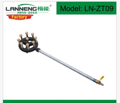 Super Long Gas Inlet Pipe Cast Iron Burner