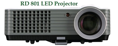 Rd-801 Led Projector in  Khizrabad